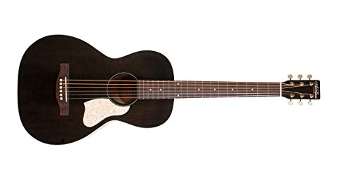 Art & Lutherie Roadhouse Parlor Acoustic-Electric Guitar Faded Black
