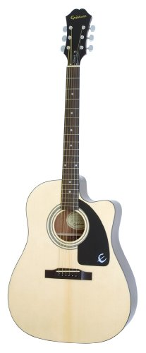 Epiphone AJ-100CE Acoustic / Electric Guitar, Natural
