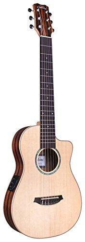 Cordoba Mini II EB-CE, Spruce Ebony, Small Body, Acoustic-Electric Cutaway Guitar