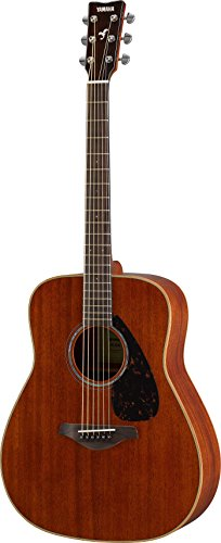 Yamaha FG850 Solid Top Acoustic Guitar, Mahogany