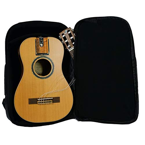 Collapsible Travel Guitar Acoustic Electric Classical Guitar Nylon String OC520 Overhead Solid Cedar