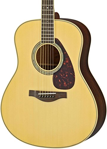 Yamaha LL6R L Series Rosewood/Spruce Dreadnought Acoustic-Electric Guitar Natural