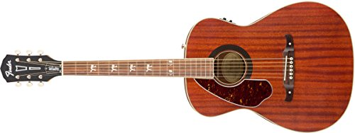 Fender Tim Armstrong Hellcat Acoustic Guitar - Natural - Left Hand