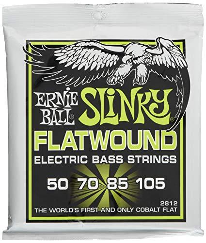 Ernie Ball Regular Slinky Flatwound Bass Set, .050 - .105