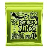 Ernie Ball Regular Slinky Electric Guitar Strings - 10-46 Gauge (P02221)