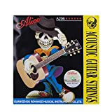 Alice 6-String Beginner 11 Gauge Acoustic Guitar Strings 3 Pack (Super Light)