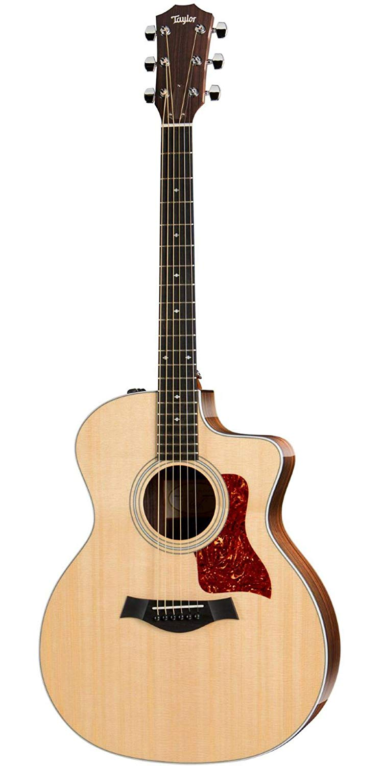 Taylor 214ce DLX Layered Rosewood Back and Sides