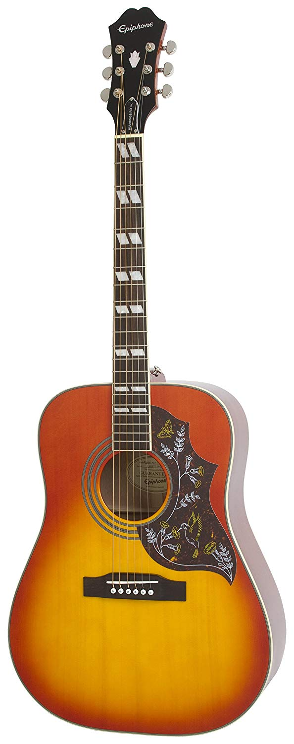 Epiphone Hummingbird PRO Acoustic-Electric Guitar Review