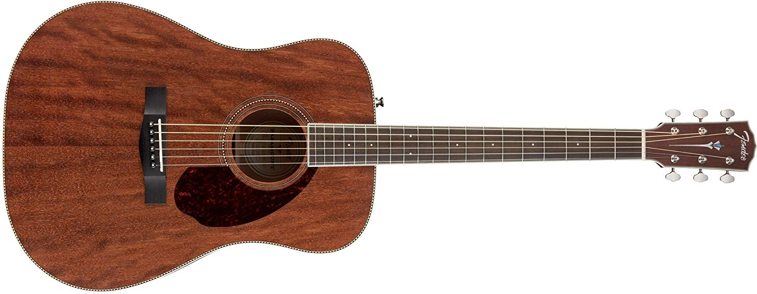 Fender Paramount Series PM-1 Standard All-Mahogany Acoustic Guitar Review