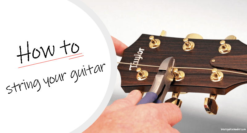 How to string your guitar