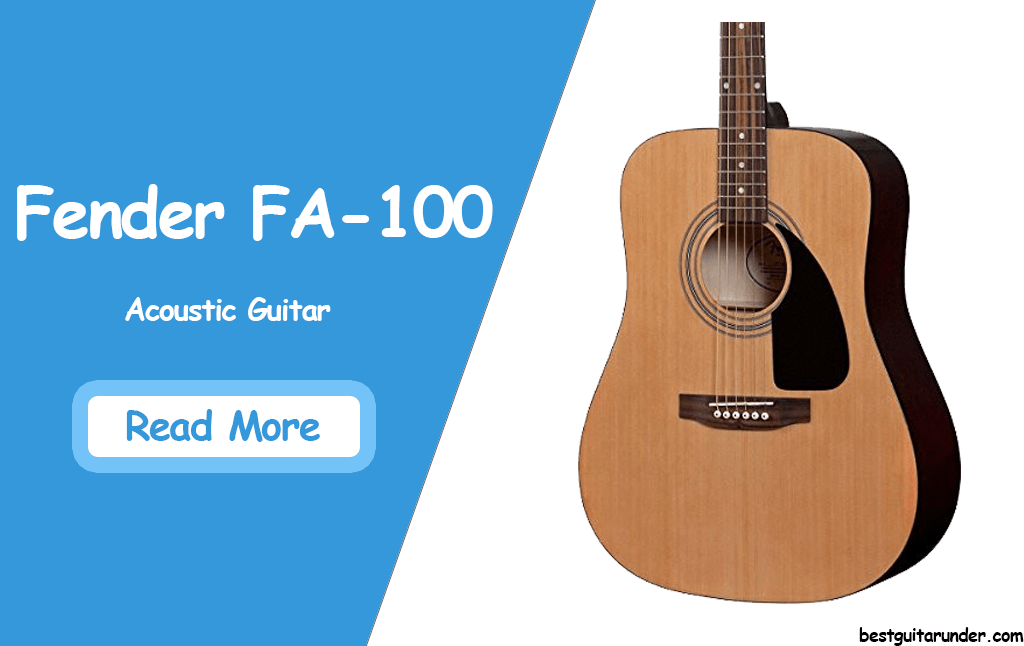 Fender FA-100 review
