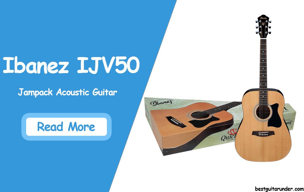 Ibanez IJV50 Jampack Acoustic review