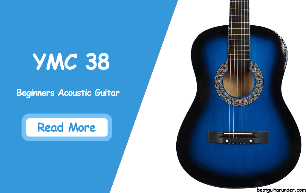 YMC 38″ Beginner Acoustic Guitar review