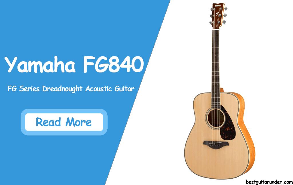 Yamaha FG840 review