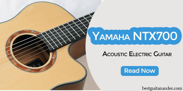 Yamaha NTX700 accoustic guitar