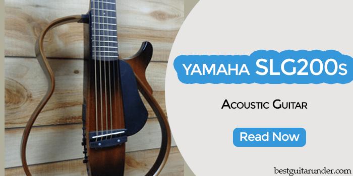 Yamaha SLG200S acoustic guitar