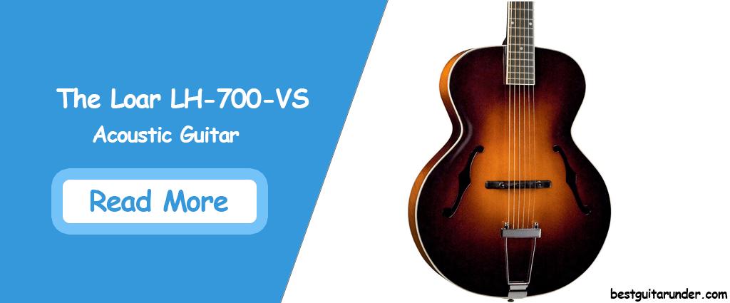 The Loar LH-700-VS Acoustic Guitar