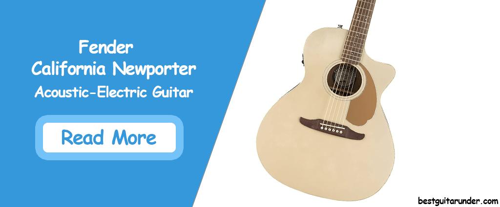 Fender California Newporter Acoustic Electric Guitar
