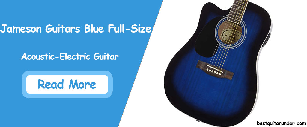Jameson Guitars Blue Full-Size Acoustic Electric Guitar Review