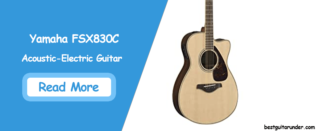 Yamaha FSX830C Acoustic Electric Guitar
