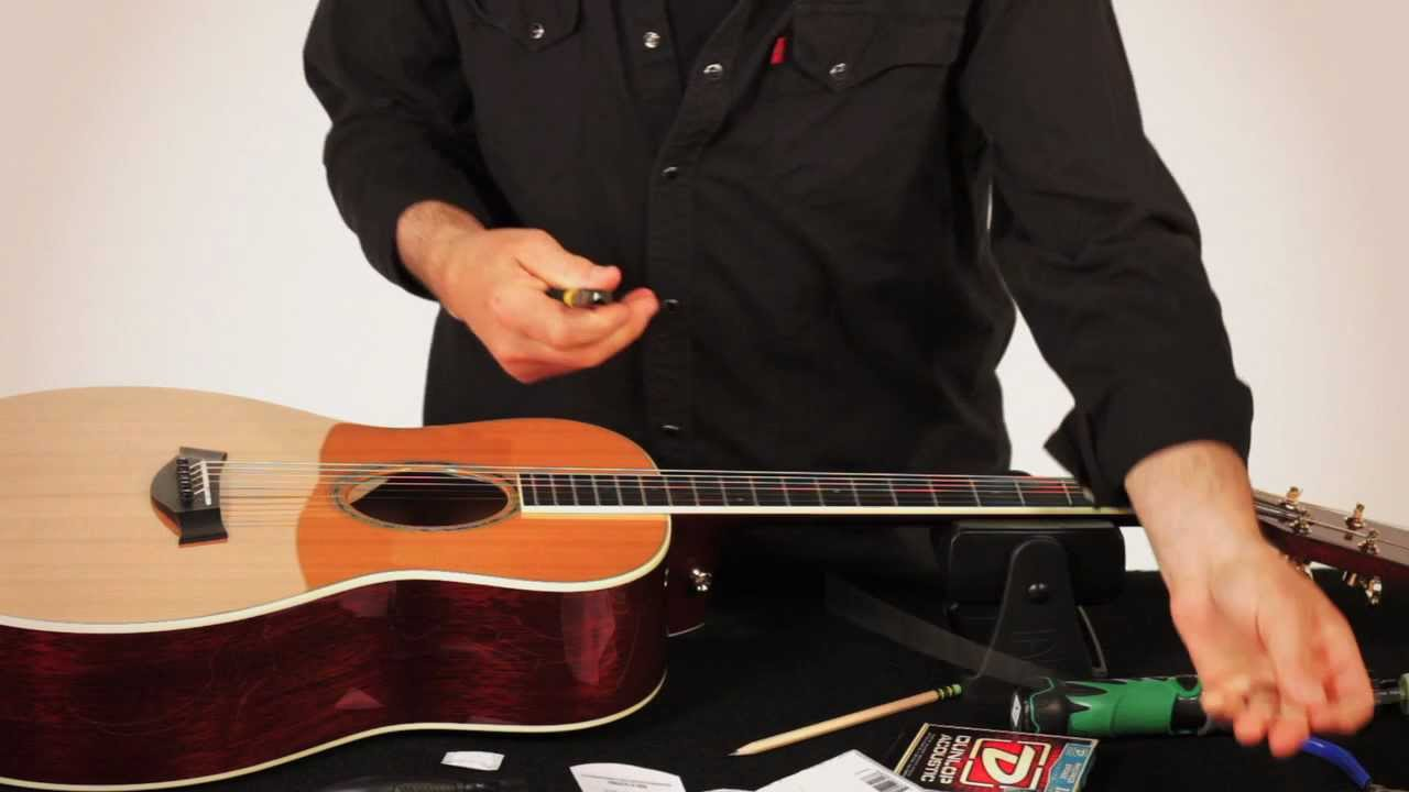 How To Restring An Acoustic