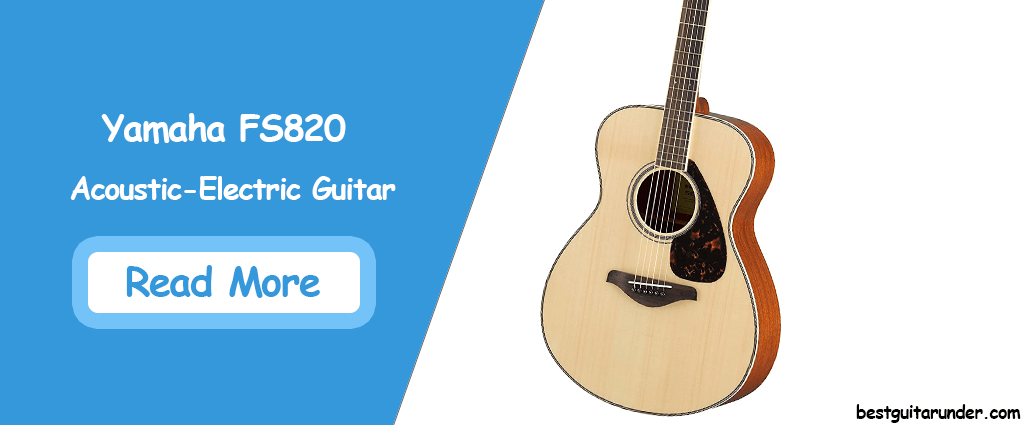 Yamaha FS820 Acoustic Electric Guitar